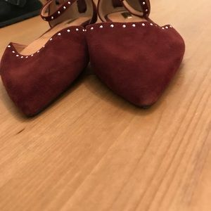 Halogen Shoes - Halogen Size 9 Point Toe Studded Shoes